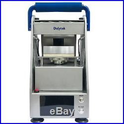 Dulytek DW6000 Electric Rosin Heat Press, 3 Tons, Touch-Screen Panel, Hand-Free