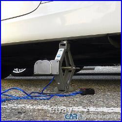 Electric 2 Ton 12 Volt Car Tire Change Scissor Lift Jack+ Impact Wrench Kit