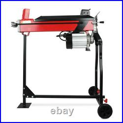 Electric 7 Ton Hydraulic Log splitter Fast wood timber cutter 2200 W of power