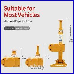 Electric Car Floor Jack 12V Car Jack Kit 3 Ton Vehicle Electric Scissor Car Lift