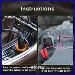 Electric Car Jack 15Ton DC 12V Automatic Lift Hydraulic Floor Tire Repair Tool