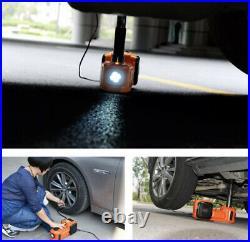 Electric Car Jack 5 Ton 3 in 1 12V 5T Hydraulic Floor Jack Lift Tire Repair Tool
