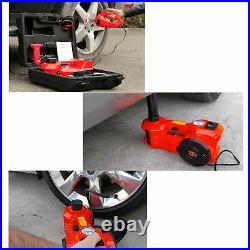 Electric Car Jack Kit withImpact Wrench Hydraulic Floor Jack 5Ton 12V Tire Change