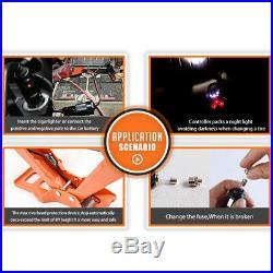 Electric Car Jack Lift Scissor 3 Ton Floor Jack Stands DC 12V Car Repair Tool
