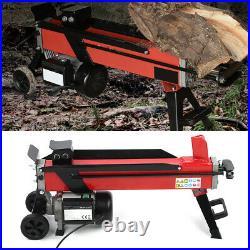 Electric Hydraulic Log Splitter 7 Tons Wood Portable Cutter Powerful 2200W 15A