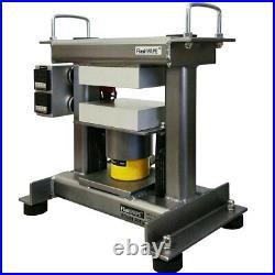 FV Rosintech FVR ULTRA 20TON Desktop Rosin Press Portable 5×7 WITH ELECTRIC PUMP