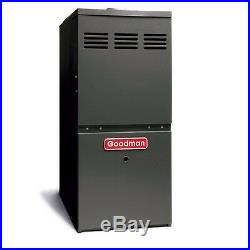 Goodman 3-5 Ton 100,000 BTU Gas Furnace Upflow Horizontal Flow GMS81005CN LPT-03