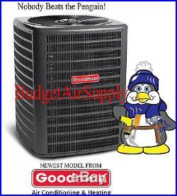 Goodman 3 Ton 14 Seer HEAT PUMP-A/C Condenser PRE Charged 410a GSZ140361+TOPOFF