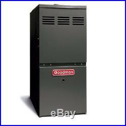Goodman 3 to 5 Ton 100,000 BTU Gas Furnace Uplow Horizontal Flow GMS81005CN