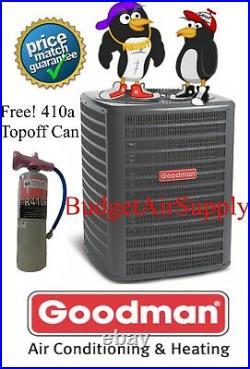 Goodman 4 Ton 16 Seer HEAT PUMP-A/C Split Condenser PRE Charged 410a