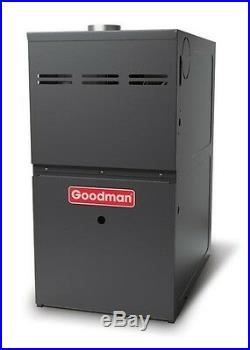Goodman 5 Ton Gas Furnace 16 Seer AC Split System 80% AFUE Up-flow / 120,000 btu