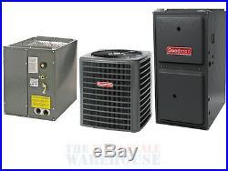 Goodman 96% 100K BTU Gas Furnace + 4 Ton 17 SEER AC