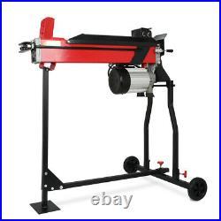 Heavy Duty Electric Log Splitter & Stand Horizontal Hydraulic 7 Ton Wood Cutter
