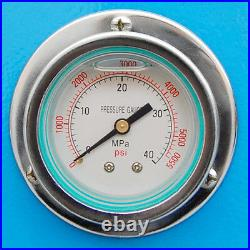 Hydraulic Press Brake 30 Ton Electric Power Bender Bending 2850 RPM 3-Phase 220V