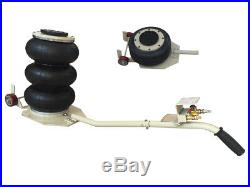 INTBUYING 3 Ton Triple Bag Air Jack Pneumatic Heavy Duty Lift Jack 6600lbs
