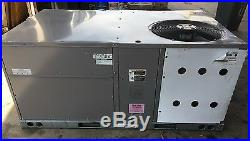 Icp 4 Ton Package Air Conditioner Gas Heating/electric Cooling, 208/230v 3ph