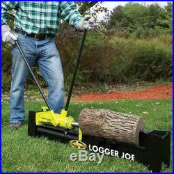 Log Splitter Wood Splitters Non Electric 10 Ton 2 Speed Pump Hydraulic Manual