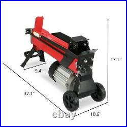 Logmaster Electric Hydraulic Log Splitter 5 Ton Fire Wood Timber Cutter & Stand