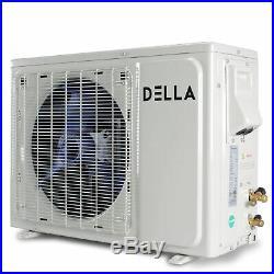 Mini Split AC 12000 BTU Ductless Inverter System 17 SEER 115V With 1 Ton Heat Pump
