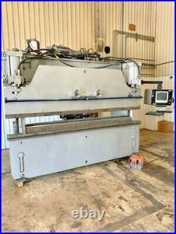Pacific Hydraulic Press Brake, 90 ton x 10', M# J 90-10, 10 Ga x 10', New 1988