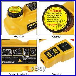 Portable Hydraulic Electric Floor Jacks Car Lifting Repair Jack Stand 5 Tons 12V