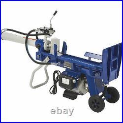 Powerhorse Horizontal/Vertical Electric Log Splitter 8-Ton, 15 Amp, 120V Motor