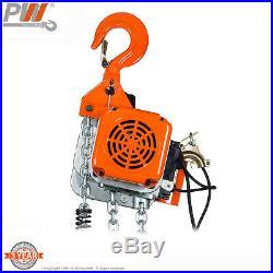 ProWinch 1 Ton Electric Chain Hoist 20 ft. FEC G80 Japan Chain Wireless 120V