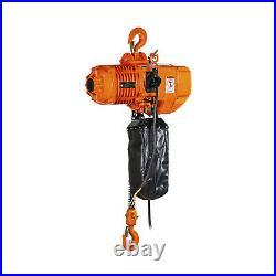 Prowinch 1 Ton Electric Chain Hoist 20ft G100 Chain M4/H3 220240/380/460V