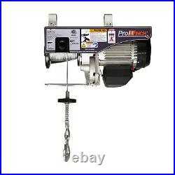 Prowinch 1 Ton Electric Wire Rope Hoist 2200 lbs. 38 ft. Wireless 110V