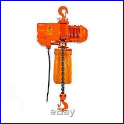 Prowinch 2 Ton Electric Chain Hoist 20ft G100 Chain M4/H3 208240/380/460V