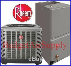 Rheem/Ruud Classic 3 ton 14 SEER HEAT PUMP Split System RP1436AJ1+RH1T3617STANJA