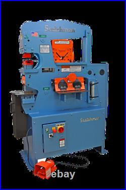 Scotchman 50514-EC 50 Ton Ironworker Made In USA