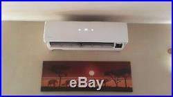 Super Efficient 1 Ton Heat Pump Ductless Mini Split Air Conditioner