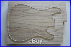 US Swamp Ash Sumpfesche Body Korpus Rohling Bank Tonholz Gitarrenbau schön