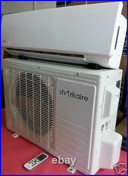 Ultra Efficient DC Inverter 1 Ton Heat Pump Ductless Mini Split Air Conditioner