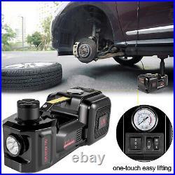 VEVOR Electric Car Jack 3 Ton 3 in 1 12V Hydraulic Floor Jack Lift Tire Repair