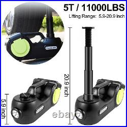 VEVOR Electric Car Jack 5 Ton 3 in 1 12V 5T Hydraulic Floor Jack Lift 5.9-20.9'