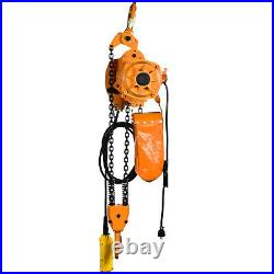 VEVOR Electric Chain Hoist 4400 LBS with 20FT 2Ton 110V Single Phase