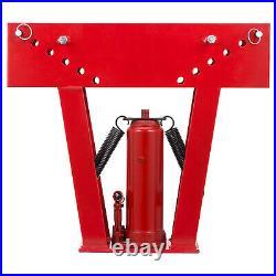 VEVOR Pipe Bender 16 Ton Hydraulic Tube Rod Bending Machine 1/2-3 8 Dies Set