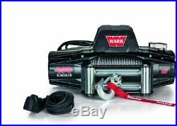 WARN 103250 VR EVO 8 Electric 12V DC 4 Ton Winch with Steel Cable Wire Rope New