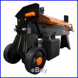Wen Electric Log Splitter w Stand 2 Handled Operation 15 Amp 2.5 HP 6.5 Ton