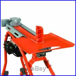 YARDMAX 5-Ton Electric Log Splitter With Stand & Tray