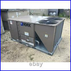 York Zf090n12r2a1aaa1a2 7.5 Ton 2 Stage Rooftop Gas/electric Ac Unit, 11.2 Eer